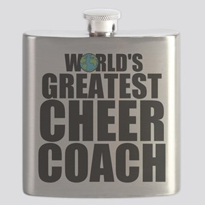 World's Greatest Cheer Coach Flask