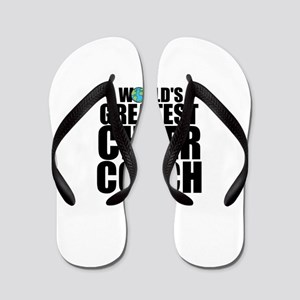1ed7e042903d64 World  39 s Greatest Cheer Coach Flip Flops