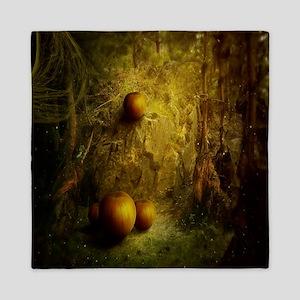 Fantasy Pumpkin Patch Queen Duvet