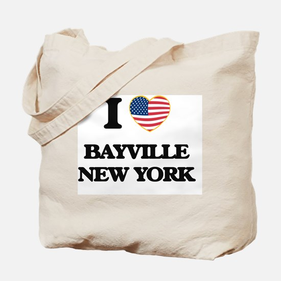 I love Bayville New York Tote Bag