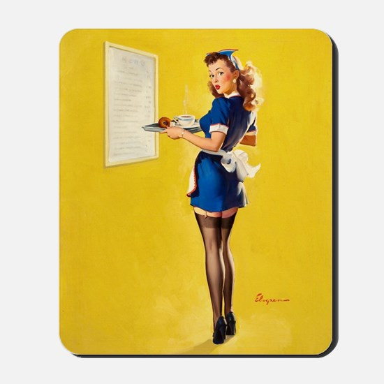 Lunch time ! Mousepad