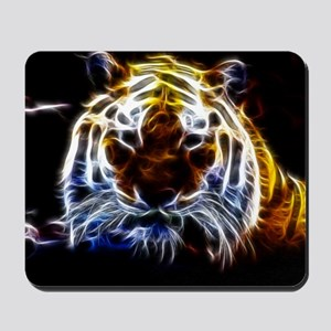 Abstract Tiger Mousepad