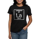 57. Lanthanum Women's Dark T-Shirt