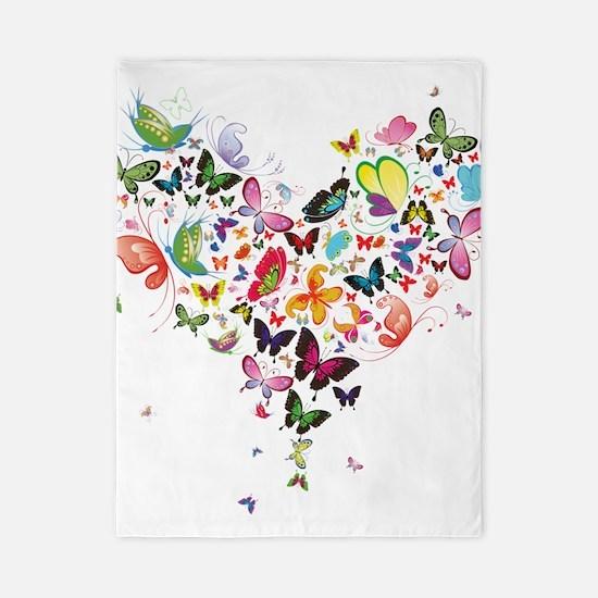 Heart of Butterflies Twin Duvet