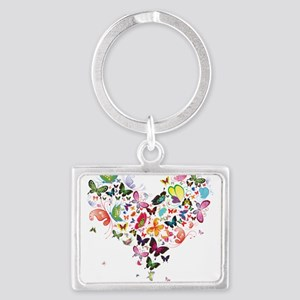 Heart of Butterflies Keychains