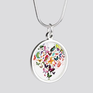 Heart of Butterflies Necklaces