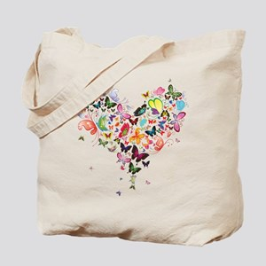 Heart of Butterflies Tote Bag