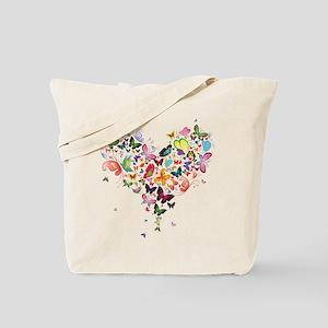 7164e05129 Heart of Butterflies Tote Bag