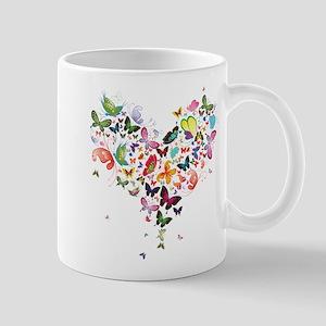 Heart of Butterflies Mugs