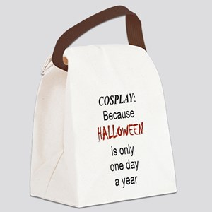 Cosplay because Canvas Lunch Bag