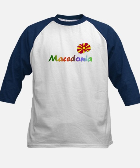 Buy Macedonian Kids Baseball Jersey