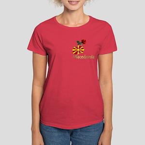 Buy Macedonian Women's Dark T-Shirt