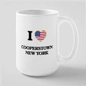 I love Cooperstown New York Mugs