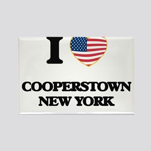 I love Cooperstown New York Magnets