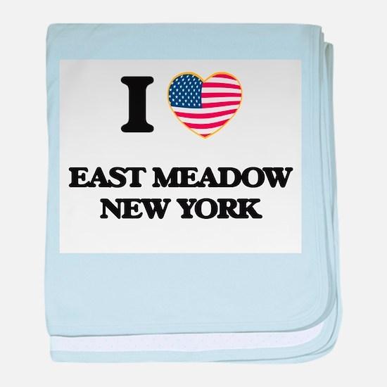 I love East Meadow New York baby blanket