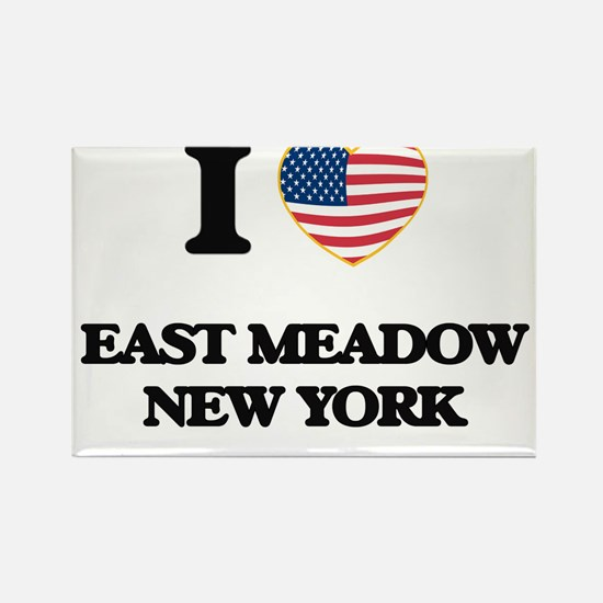 I love East Meadow New York Magnets