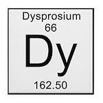 66. Dysprosium Tile Coaster