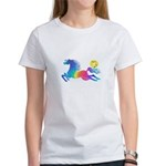 Rainbow Horse Women's T-Shirt