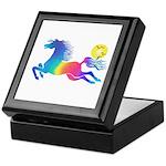 Rainbow Horse Keepsake Box