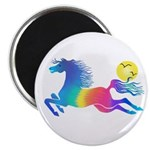 """Rainbow Horse 2.25"""" Magnet (10 Pack) Magnets"""