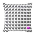 Just Say Yes Woven Throw Pillow