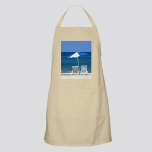 Beach Chairs and Umbrella Apron