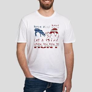 GIRL DEER HUNTER USA T-Shirt