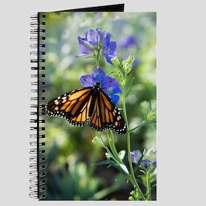 Monarch Butterfly on Flowers Journal
