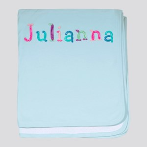 Julianna Princess Balloons baby blanket