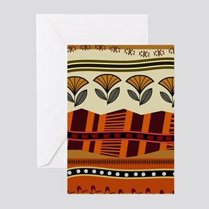 Ethnic 2 Greeting Cards