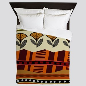Ethnic 2 Queen Duvet