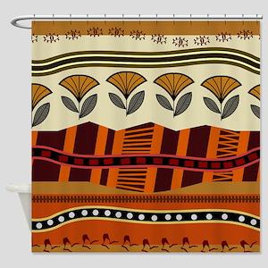 Ethnic 2 Shower Curtain