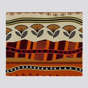 Ethnic 2 Throw Blanket