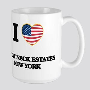 I love Great Neck Estates New York Mugs