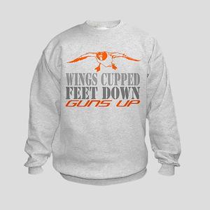 Duck Hunter Kids Sweatshirt
