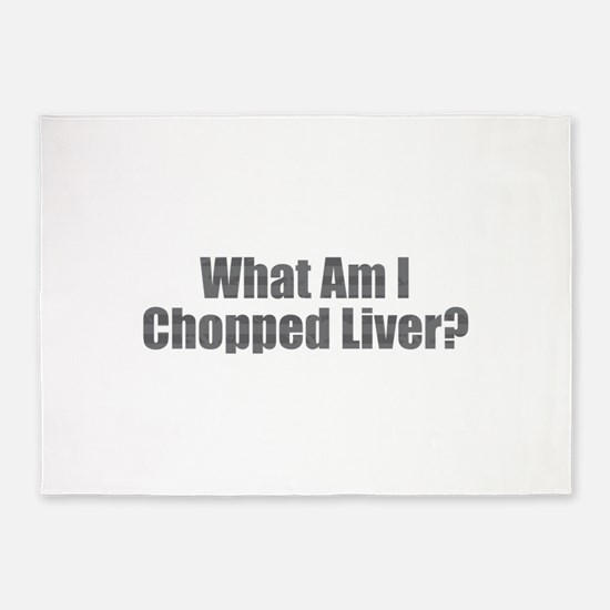 Chopped Liver 5'x7'Area Rug