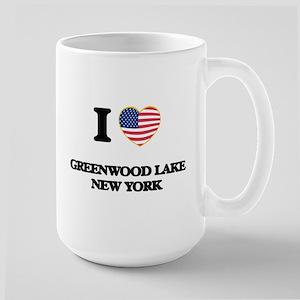 I love Greenwood Lake New York Mugs