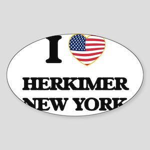 I love Herkimer New York Sticker
