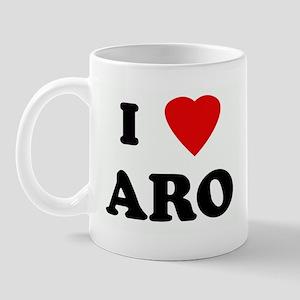 I Love ARO Mug