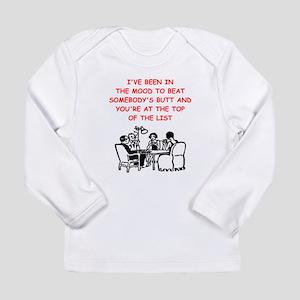 card player joke Long Sleeve T-Shirt
