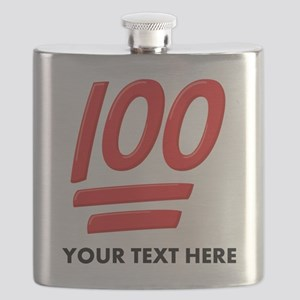 One Hundred Personalized Flask