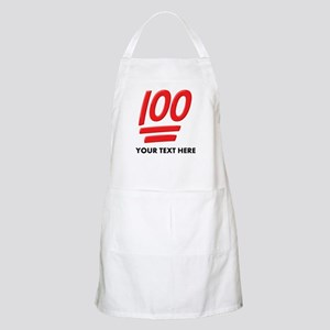 One Hundred Personalized Light Apron