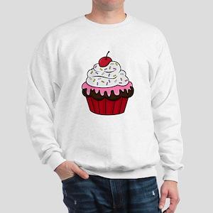 Chocolate Cupcake w/Pink Frosting Sweatshirt