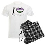 I Heart Being Genderqueer Pajamas