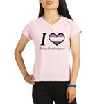 I Heart Being Genderqueer Performance Dry T-Shirt