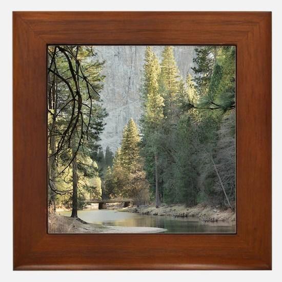 Unique Forest Framed Tile