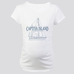 Captiva Island - Maternity T-Shirt