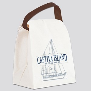 Captiva Island - Canvas Lunch Bag