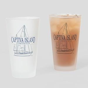 Captiva Island - Drinking Glass