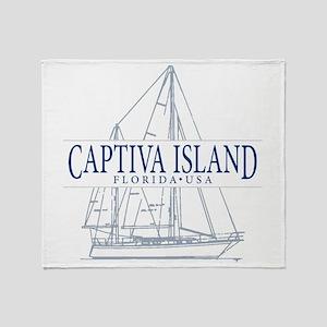Captiva Island - Throw Blanket